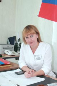 Замятина Инна Игоревна. Главный врач, кандидат медицинских наук