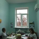 Один из кабинетов приема участкового -врача терапевта